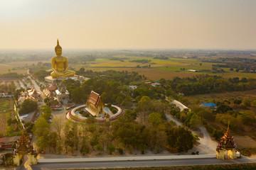 big buddha statue temple in thailand