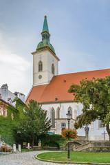 Fototapete - St Martin's Cathedral, Bratislava, Slovakia