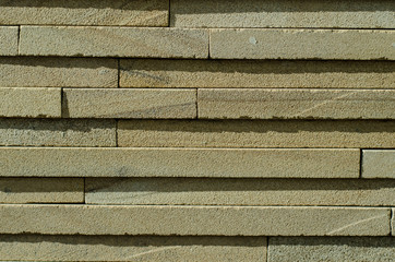 Brick wall. Tile and brick wall. Old wall made of stone. Brickwork.