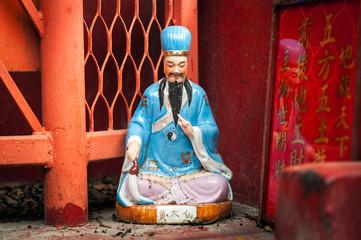 Statue of Hong Kong god Wong Tai Sin