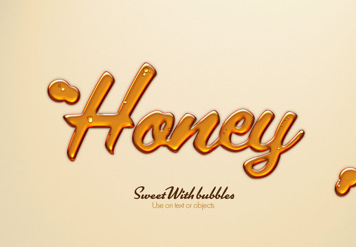 Golden Liquid Text Effect