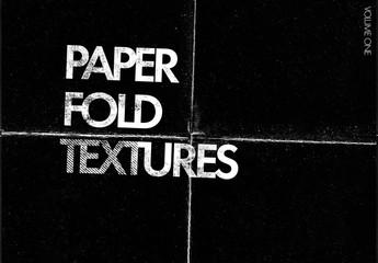 paper fold texture overlays