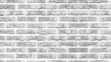 White gray light rustic brick wall texture banner