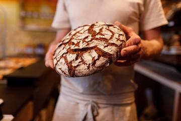 Brot backen in der Backstube