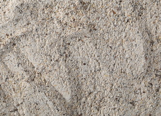 Buckwheat integral flour background and texture