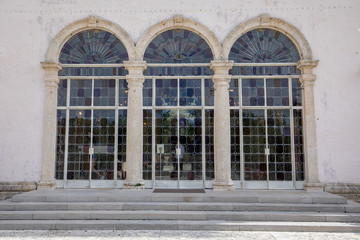 Vizcaya Museum and Gardens - Stained Glass doors