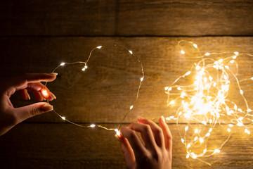 Ein Lichterherz