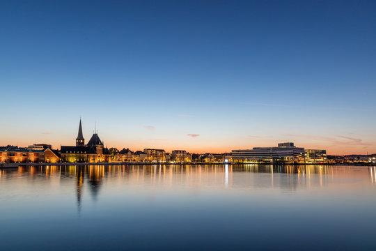 Aarhus, Denmark - by night