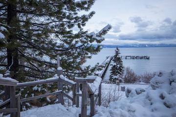 Lake Tahoe city center - Lake view