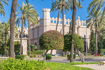 Avinguda de Gabriel Roca in Palma de Mallorca, Spain