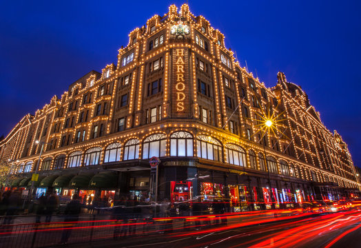 Harrods in London, UK