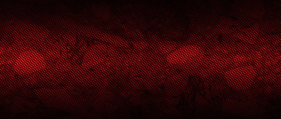 red and black carbon fibre background and texture. Fototapete