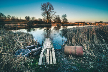 Fototapeta jezioro dziekanowskie obraz