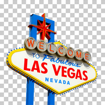 Las Vegas, Nevada / USA - March 10 2019: Welcome to Fabulous Las Vegas Sign designed by Betty Willis in 1959.