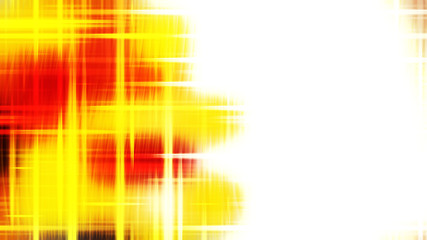 Wall Mural - Futuristic Glowing Red White and Yellow Light Lines Stripes Background