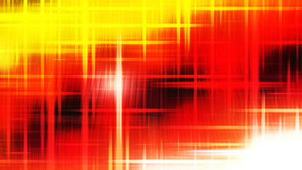 Wall Mural - Futuristic Glowing Red White and Yellow Light Lines Background