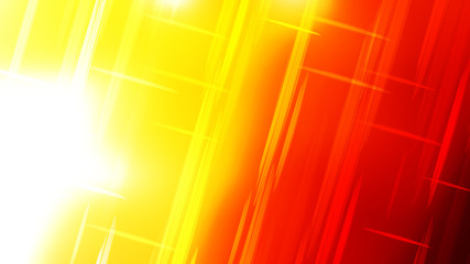 Wall Mural - Abstract Red White and Yellow Futuristic Glowing Stripes Background