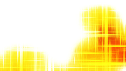 Wall Mural - Futuristic Yellow and White Light Abstract Background