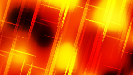 Wall Mural - Abstract Red and Yellow Futuristic Tech Glowing Stripes Background