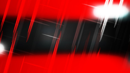Wall Mural - Abstract Red Black and White Futuristic Tech Glowing Stripes Background