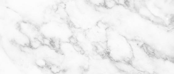 Photo sur Aluminium Marble granite white panorama background wall surface black pattern graphic abstract light elegant black for do floor ceramic counter texture stone slab smooth tile gray silver natural.