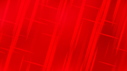 Wall Mural - Abstract Bright Red Futuristic Stripe Background Graphic