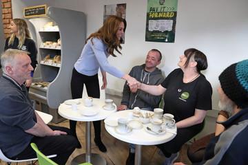 Britain's Catherine, Duchess of Cambridge, visits Aberdeen