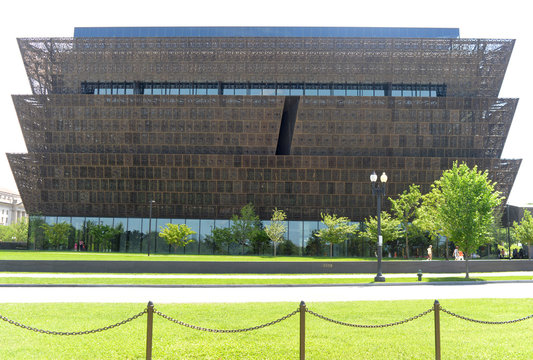 Washington, DC - June 01, 2018: National Museum of African American History and Culture in Washington, DC.