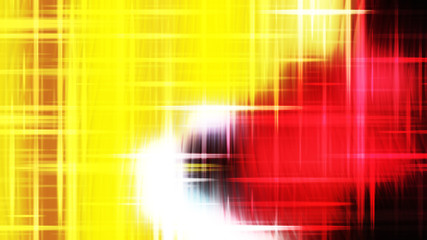 Wall Mural - Futuristic Red White and Yellow Light Abstract Background