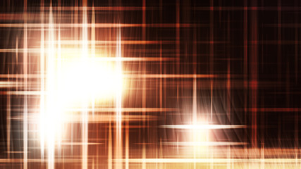 Wall Mural - Brown and White Futuristic Glowing Light Stripes Background
