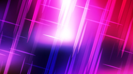 Wall Mural - Abstract Blue Purple and White Futuristic Tech Glowing Stripes Background Image