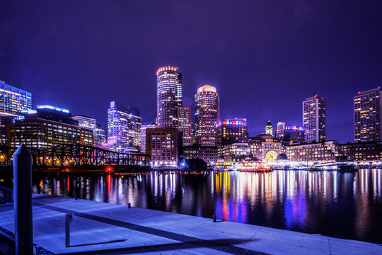 Baltimore Cityscape, USA