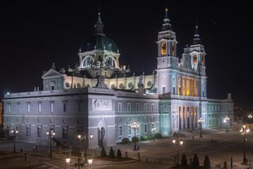 Almudena Cathedral (Madrid, Spain)
