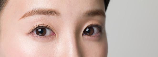 目・女性 Fotomurales