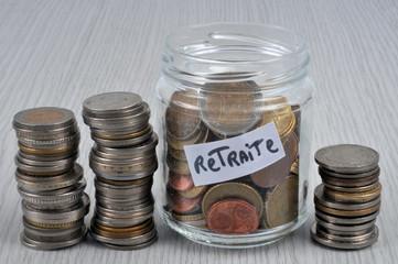 Les économies pour la retraite