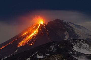 Etna Fototapete