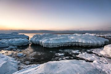 Lodowy teatr na południowym Spitsbergenie