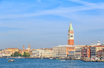 Venice, Italy. Doges Palace (Palazzo Ducale) Promenade San Marco