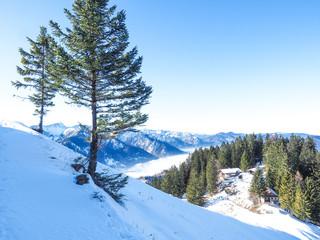Winterwanderung von Fischbachau auf den Breitenstein