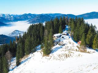 Winterwandern von Fischbachau auf den Schweinsberg