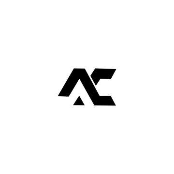 AC Logo Icon Vector Template