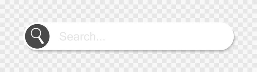 Web search bars vector illustration - fototapety na wymiar