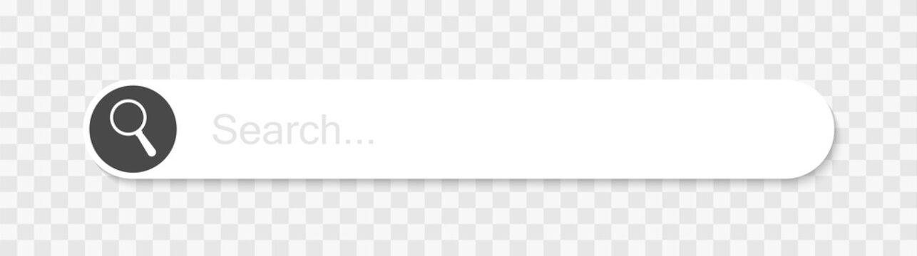 Web search bars vector illustration