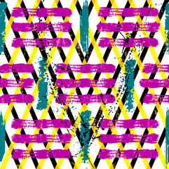 abstract geometric pattern background, with strokes, splashes and stripes