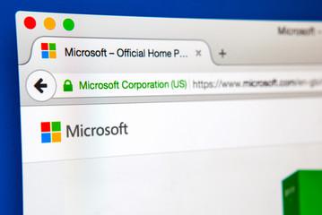 Microsoft Website