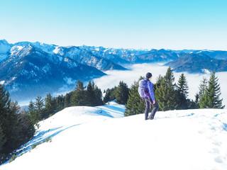 Winter in den Bayerischen Voralpen