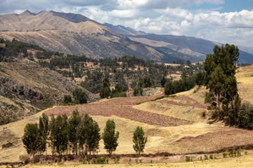 Papiers peints Amérique du Sud Rural Andes Landscape