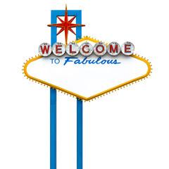 Fotobehang Las Vegas Las vegas sign