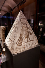 Pyramidion of Ramose from Museo Egizio in Turin, Italy