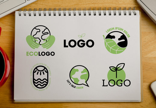 Earth Logos Set
